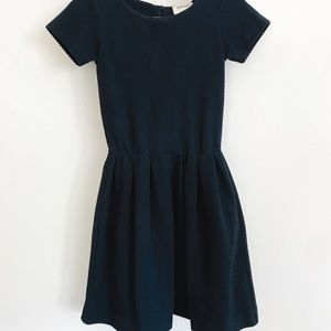Navy blue super comfy cotton dress
